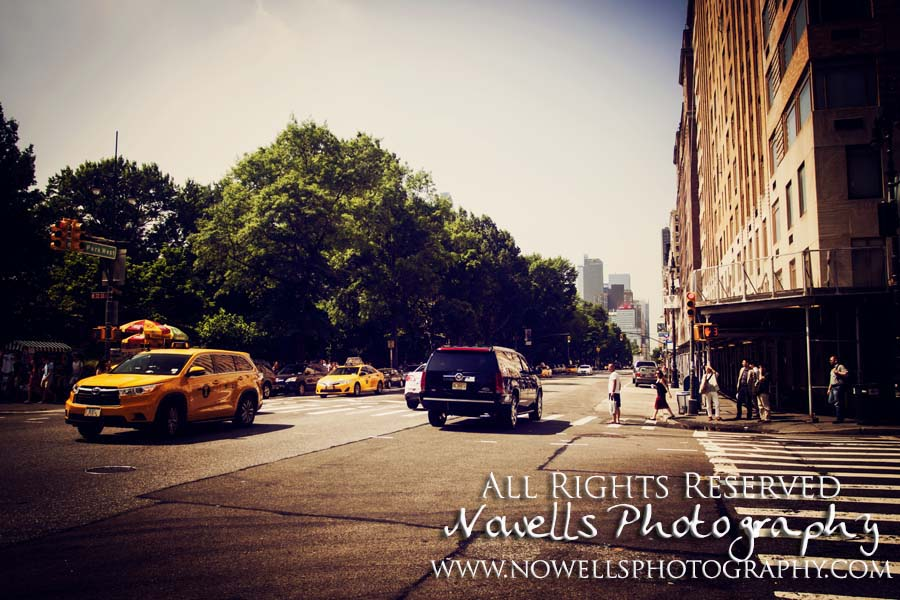 Central Park Crossing New York, Manhattan, Real New York Tour, Photography by Noelle Wells, Nowells Photography, All Rights Reserved Taxi
