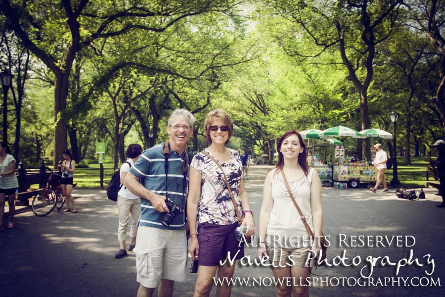 Central Park Family Picture New York, Manhattan, Real New York Tour, Photography by Noelle Wells, Nowells Photography, All Rights Reserved