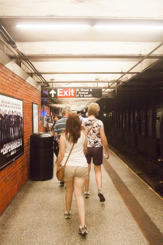 Subway Station NQR  7 Avenue 40 Street Tourists New York, Manhattan, Real New York Tour, Photography by Noelle Wells, Nowells Photography, All Rights Reserved