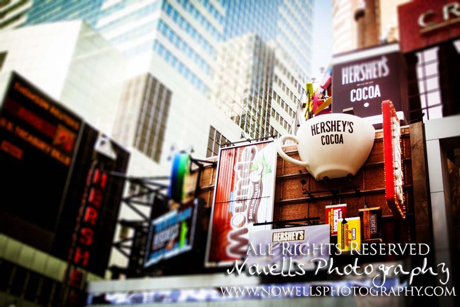 Times Square, Hershey's Cocoa, Mounds, Mr. Goodyear, Chocolate, Candy, New York, Manhattan, Real New York Tour, Photography by Noelle Wells, Nowells Photography, All Rights Reserved