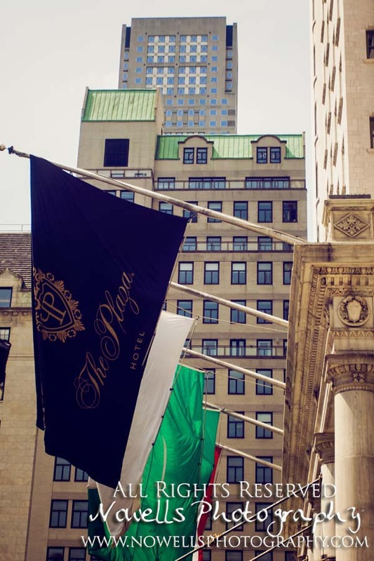 The Plaza Hotel Flag Banner New York, Manhattan, Real New York Tour, Photography by Noelle Wells, Nowells Photography, All Rights Reserved