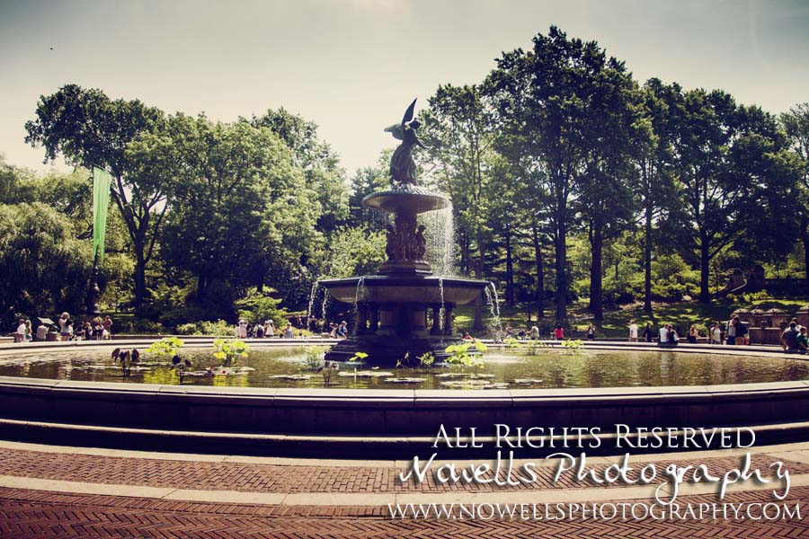 Bethesda Fountain Central Park New York, Manhattan, Real New York Tour, Photography by Noelle Wells, Nowells Photography, All Rights Reserved