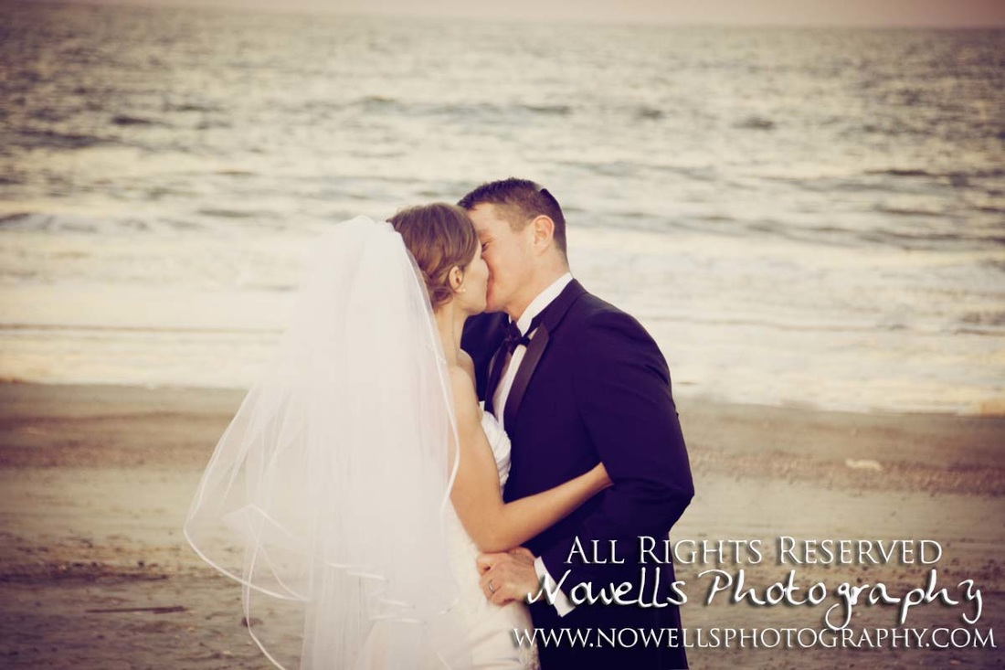 Alex & Christy Wedding - Tybee Island, Savannah, Georgia - Destination Photography by Nowells Photography, All Rights Reserved, Arizona Photographer Noelle Wells, www.nowellsphotography.com