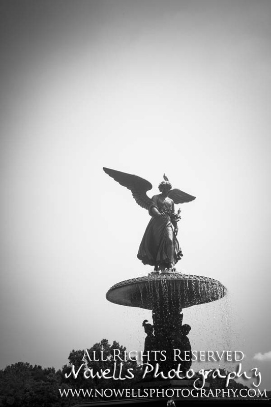Bethesda Fountain Angel Scupture New York, Manhattan, Real New York Tour, Photography by Noelle Wells, Nowells Photography, All Rights Reserved