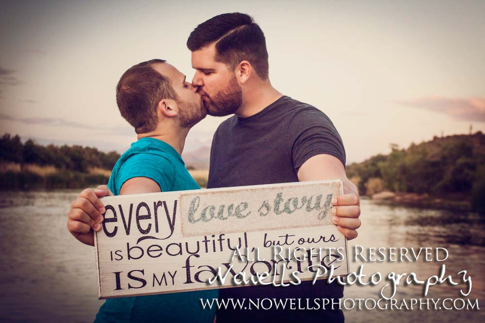 Same Sex Engagement Photography, LGBT Wedding Photographer, Mesa, Arizona, Phoenix LGBTQ, Lower Salt River Desert Love by Nowells Photography. www.nowellsphotography.com