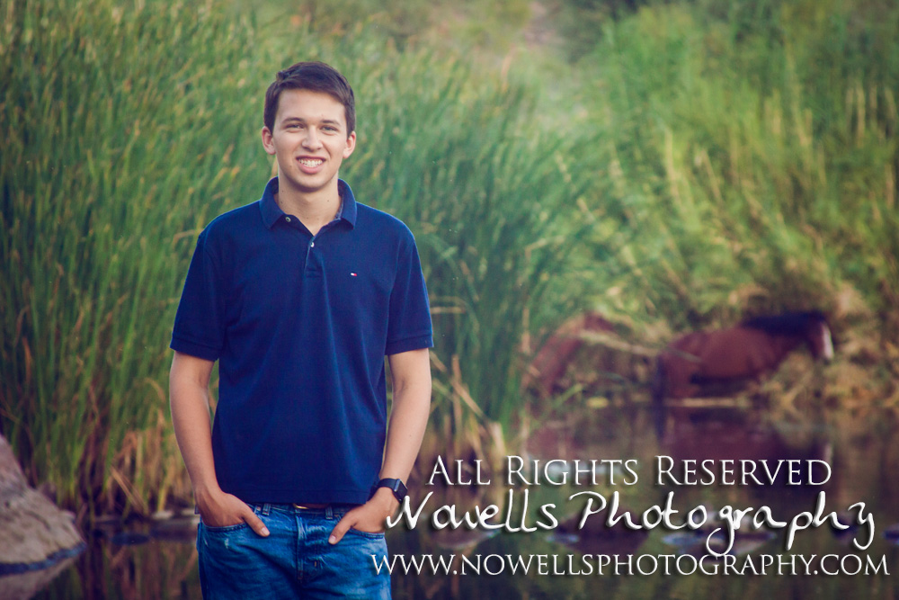 Lower Salt River Horses, Guys Mens Boys Senior Portraits in East Valley Phoenix, Mesa Arizona Area. Photography by Nowells Photography at www.nowellsphotography.com